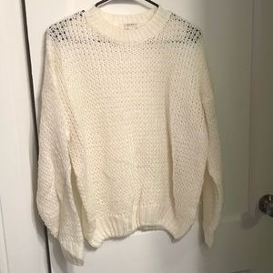 Off White Forever 21 Sweater